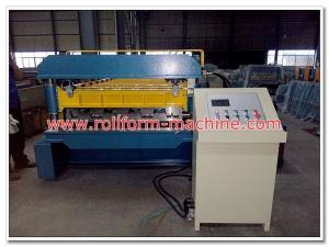 China Strong Concrete Floor Decking Tile Roll Forming Machinery Made in Hangzhou, China on sale