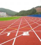 Customized Color And PU Tartan Track Surface Non Toxic Anti Fade For Stadium