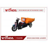 Three Wheel Electric Mini Dumper 36V Open Body Type Brick Production Line Applied