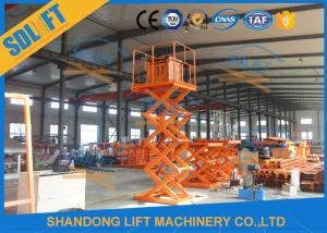 China 2018 Hot Sales High Quality Stationary Hydraulic Scissor Lift with CE on sale