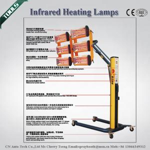 China Economical 220v, 230v, 300v Infrared Curing Lamp With Ultrasonic Paint Curing (6 X 1100W) on sale