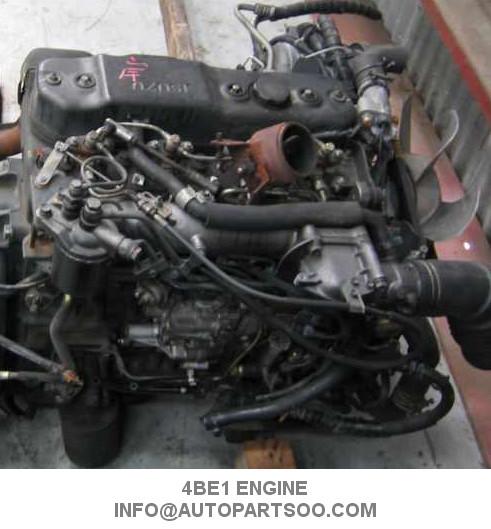 4HG1 Isuzu Engine Spare Parts ISUZU 4HG1 Motor Isuzu Diesel Engine