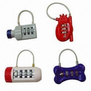 China Password Locks, Made of Zinc Alloy on sale