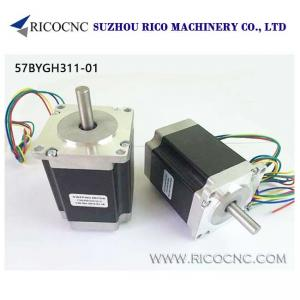 China 57BYGH311-01 CNC Router DC Step Motor 2 Phase Hybrid Stepping Motor for DIY CNC Router Plasma on sale