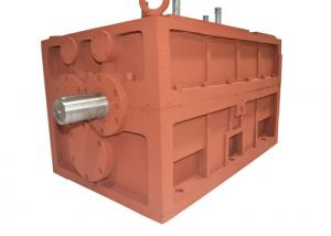 China Bevel Or Helical Reduction Gear Box 380V 50 / 60Hz , Electric Motor Speed Reducer on sale