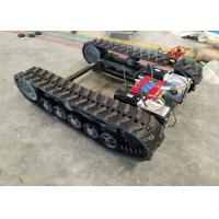 China Agricultural Machineries Rubber Track Undercarriage With Chassis / Power Transmission on sale