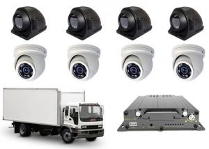 China 3G4G FHD 1080P Mobile DVR 8CH Vehicle Recorder 8 MDVR Cameras Realtime Monitoring on sale
