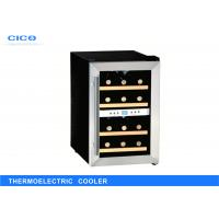 China Small Thermoelectric Wine Refrigerator / Stainless Steel Wine Cooler on sale