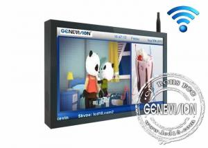 China 32 Inch All Perspective Wifi Digital Signage Lcd Display With Safety Lock on sale