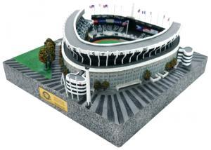 China Exqusite design polyresin Stadium 3D Model scales building item souvenir on sale