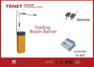 China Indoor Folding Traffic Barrier Gate 4m 5s Sensitive Reaction on sale