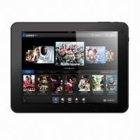 8.0-inch Tablet PC, Amlogic AML8726-MX, Dual Cortex-A9, Dual 1.5GHz, with Storage 4/32GB HD