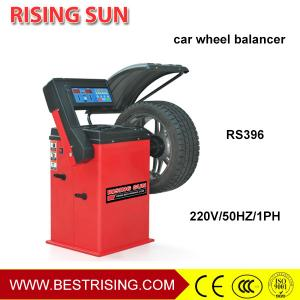 China Semi automatic car wheel balancing equipment on sale