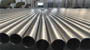 China Titanium  Heat Exchanger Pipe ASME SB338 Grade 2 Grade 9 Precision Titanium Tube on sale
