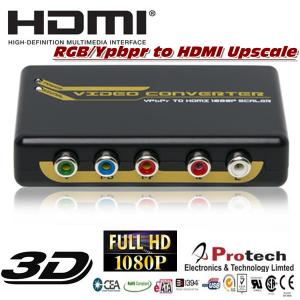 China Ypbpr RGB to HDMI Converter upscale to 1080P 720P PETRHS on sale