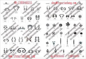 China wrought iron fittings on sale