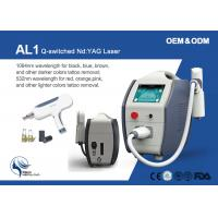 2000mj Plug And Play Birthmark Makeup Q Switch Laser Tattoo Removal Machine