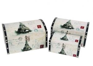 China Vintage duitcase wedding cosmetic storage box mini vintage jewelry storage wooden box on sale