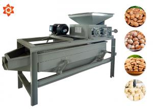 China 2.2 Kw Peanut Processing Machine Peanut Cracking Machine 300 - 400kg/H Capacity on sale