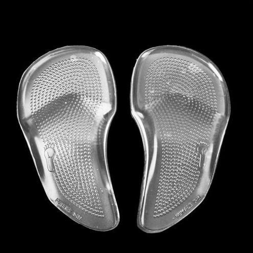 29886bc66f Unisex Gel Forefoot Metatarsal Arch Support Shoe Inserts Cushion Insoles  Pad Images