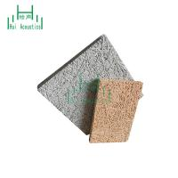 China Nature Wood Wool Panels For Ceiling Treatment Wood Panel Office Fireproof 25Mm Fiber Cement Board on sale