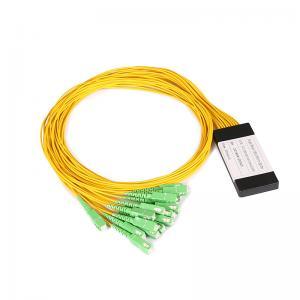 China 1*16 SC/APC PLC Optical Fiber Splitter With Various Coupling Ratio on sale