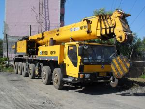 China 120T XCMG all Terrain Crane QY120K 2008 on sale