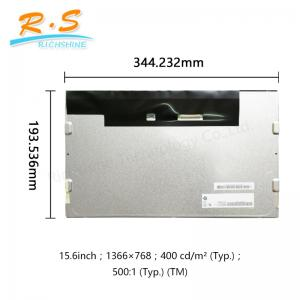 China G156XW01 V1 15.6 lcd panel , 1366X768 16 / 9 LVDS SVGA tft lcd display Screen on sale