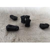 High Grade Rubber Silicone / PVC Reversible Metal Decorative Zipper Pulls