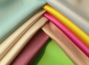 China Polyester dull satin fabric, 85gsm, width 58 on sale