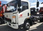 5 Ton Light Duty Trucks Chassis 4x2 Type RHD Driving Steering 84HP Diesel Engine