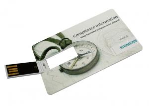 China high speed credit card usb pen drive, free logo card usb stick on sale