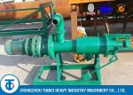 Farm Poultry Manure Dewatering Screw Press Machine ISO / BV / SGS Certificated
