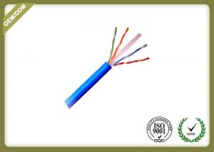 China 23AWG Multi Core Network Fiber Cable , Cat6 Utp Cable With Solid Bare Copper on sale