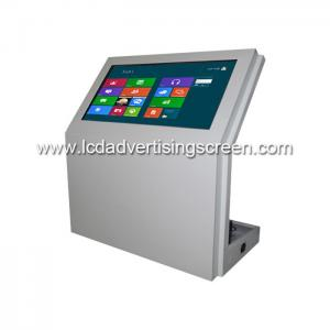 China 55 Inch LibraryLCD Touch Screen Information Checking Station Display Stand on sale