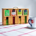 special design for bamboo storage box with foldable