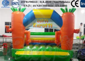 China Lotti Karotti Comemrcial Inflatable Bouncer / Jumping Castle Moonwalks on sale