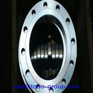 China UNS S32750/1.4410 class 600 RF SCH40 ASTM A182 F53 SAF 2507 Weld Neck Flanges 10 inch on sale