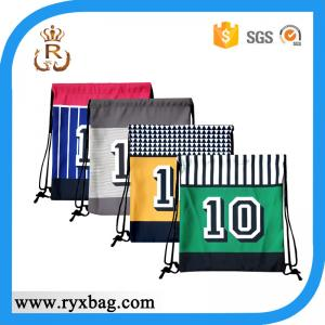China Sports customized sling backpack bag /drawstring backpack on sale