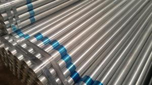 China Steel Hot Dipped Galvanised Scaffold Tube OEM Accepted For Building Construction on sale