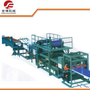 China High Precision EPS Sandwich Panel Production Line , Sandwich Panel Roll Forming Machine on sale