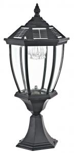 China Classic European Outdoor Solar Lamp Post Lights 110 - 220V For Garden Decor on sale