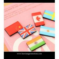 China Custom Flag type Resin Fridge Magnets Tourist Souvenir Fridge Magnet For Sale on sale