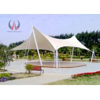Strained Membrane Park Shade Structures Outdoor Shade Awnings Knock Down Type