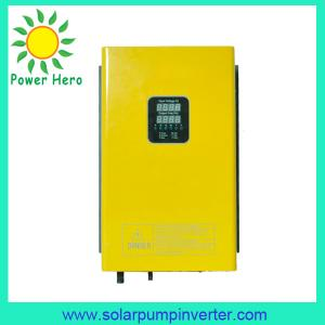 China 2.2KW solar water pump inverter for agriculture on sale