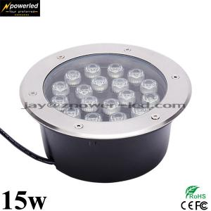 China Walk way application IP67 15w recessed concrete led ground floor lights on sale
