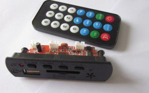 China FM MP3 module with remote control with display on sale