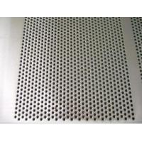 China Decorative Perforated Metal Mesh Lowes 0.1-0.8mm Thickness Small Round Hole on sale