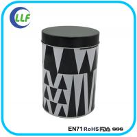 2015 food grade round cookies tin can for promotion