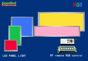 China 10W 800LM Surface Mounted RGB LED Panel Light 180x180 mm RF Remote Control on sale